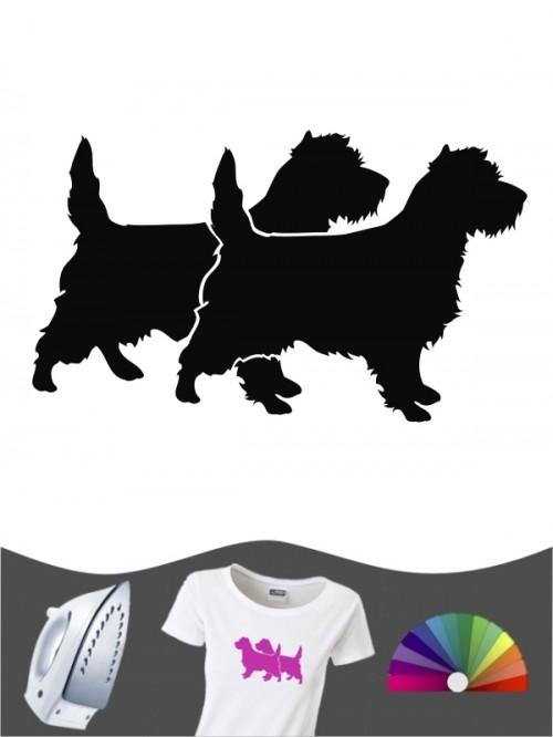 Cairn Terrier 2 Bügelbild