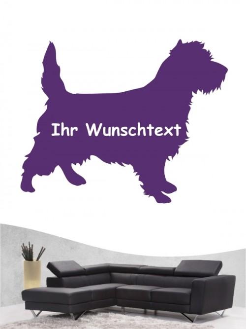 Cairn Terrier 3 Wandtattoo