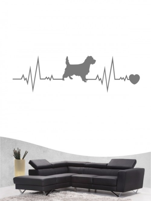 Cairn Terrier 41 - Wandtattoo