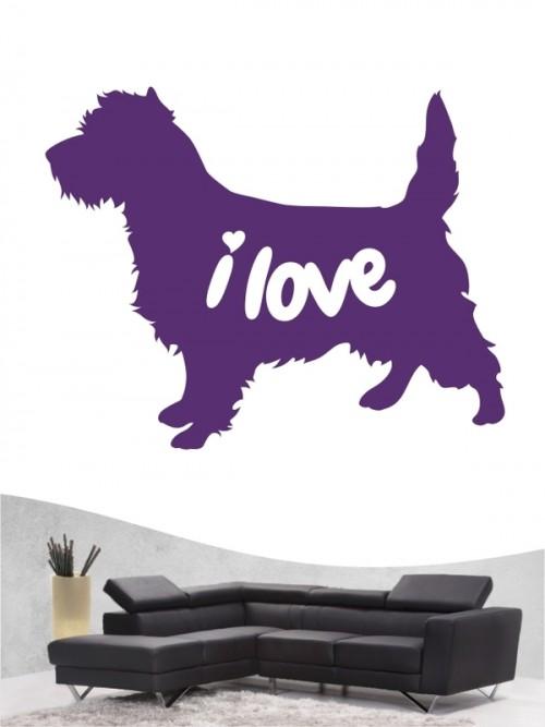 Cairn Terrier 43 - Wandtattoo