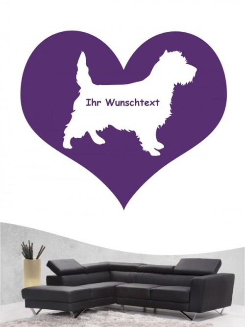Cairn Terrier 4 Wandtattoo