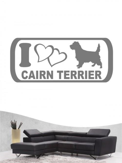 Cairn Terrier 6 Wandtattoo