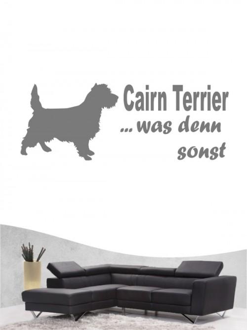 Cairn Terrier 7 Wandtattoo