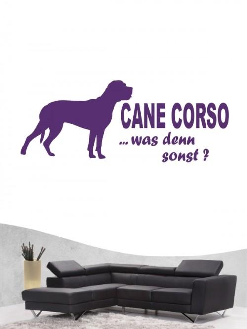 Cane Corso 7 - Wandtattoo