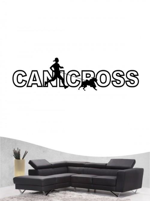 Canicross 13 - Wandtattoo
