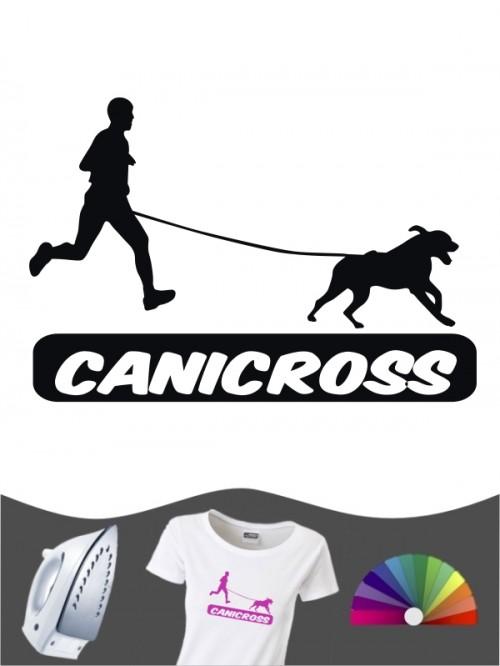 Hunde-Bügelbild Canicross 5 von Anfalas.de