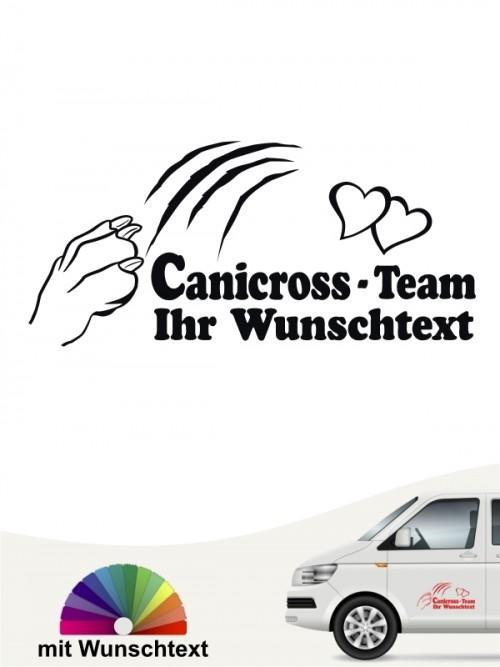 Canicross Aufkleber zum selbst gestalten von anfalas.de