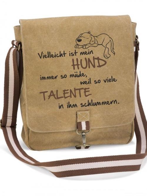 """Canvas-Tasche """"Talente"""" von anfalas.de"""