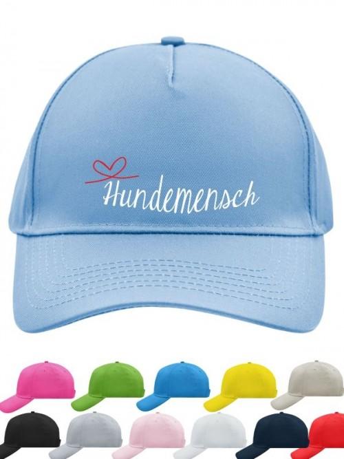 "Basecap ""Hundemensch"" von anfalas.de"
