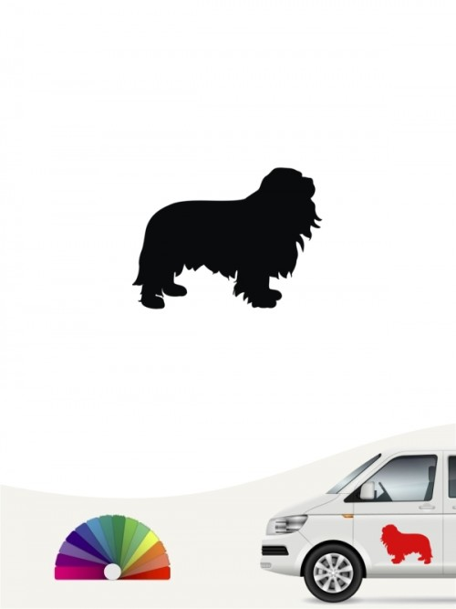 Hunde-Autoaufkleber Cavalier King Charles Spaniel 1 Mini von Anfalas.de