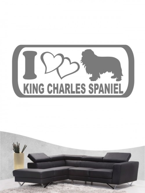 Cavalier King Charles Spaniel 6 - Wandtattoo