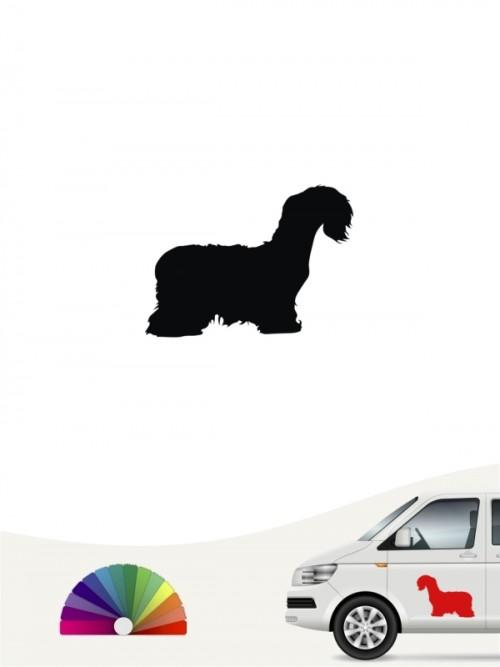 Cesky Terrier Heckscheibenaufkleber anfalas.de