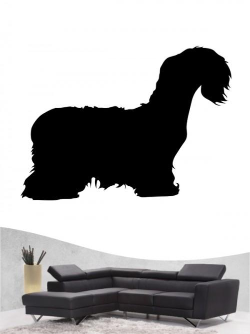 Cesky Terrier 1 - Wandtattoo