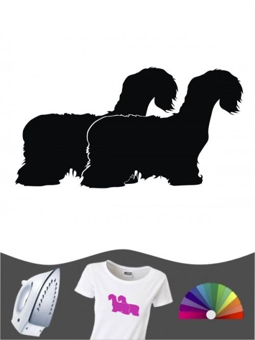 Cesky Terrier 2 - Bügelbild