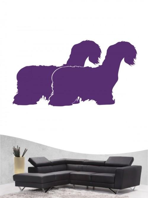 Cesky Terrier 2 - Wandtattoo