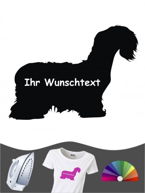 Cesky Terrier 3 - Bügelbild