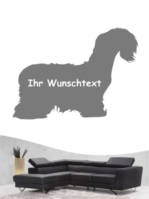 Cesky Terrier 3 - Wandtattoo