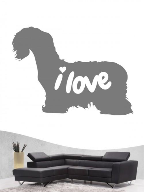 Cesky Terrier 43 - Wandtattoo