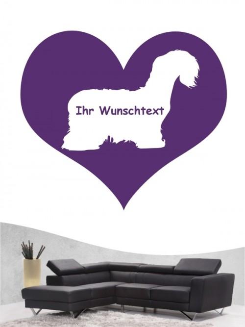 Cesky Terrier 4 - Wandtattoo