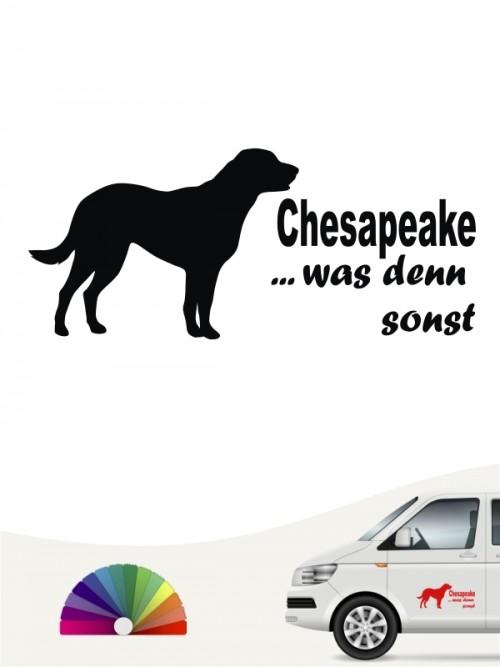 Chesapeake was denn sonst Heckscheibenaufkleber anfalas.de