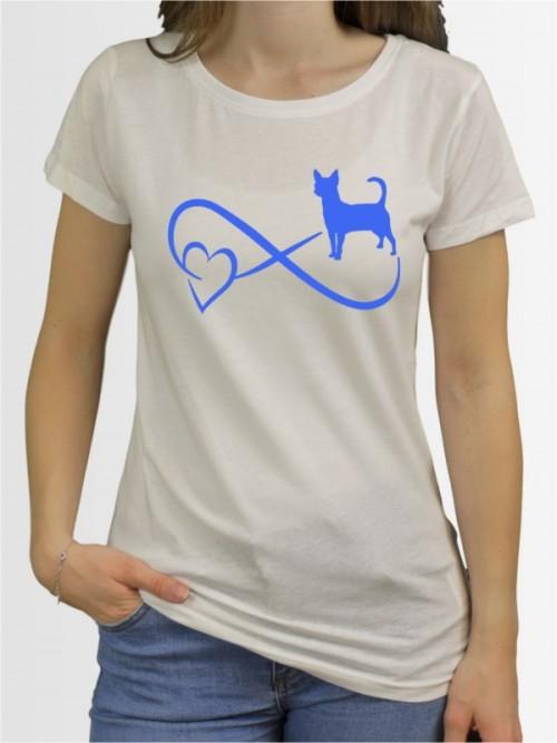 """""""Chihuahua Kurzhaar 40"""" Damen T-Shirt"""