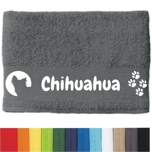 "DOG - Handtuch ""Chihuahua Langhaar "" von anfalas.de"