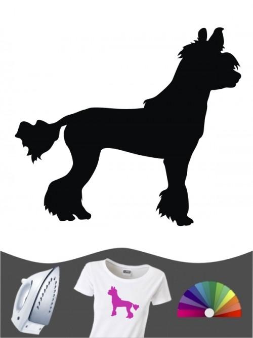 Chinesischer Schopfhund 1 Bügelbild