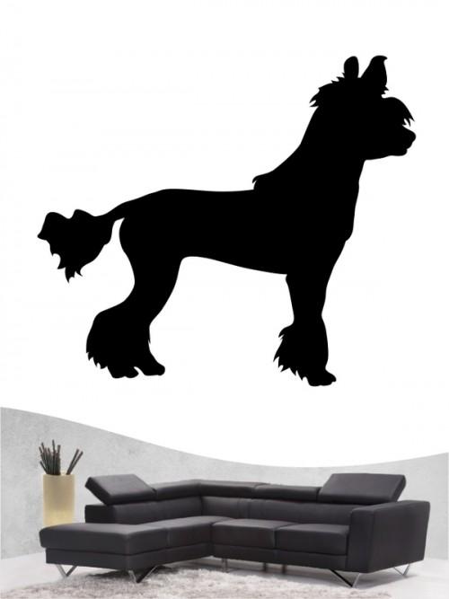 Chinesischer Schopfhund 1 - Wandtattoo