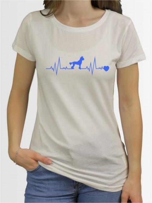 """""""Chinesischer Schopfhund 41"""" Damen T-Shirt"""