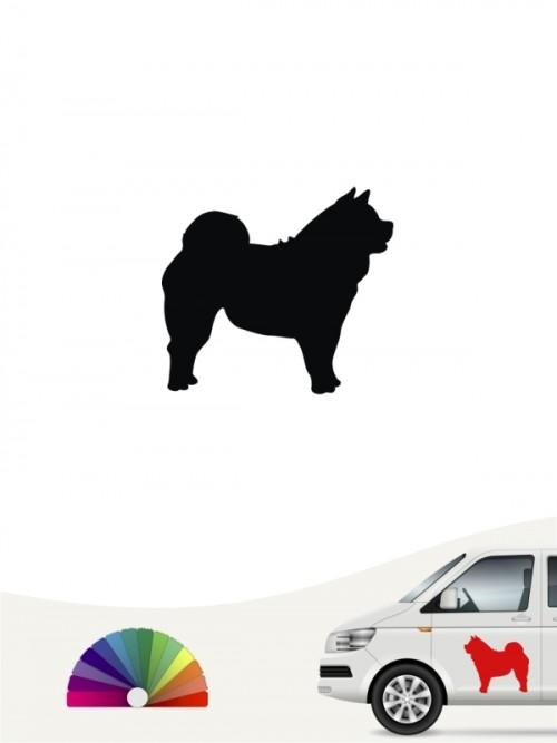 Hunde-Autoaufkleber Chow-Chow 1 Mini von Anfalas.de