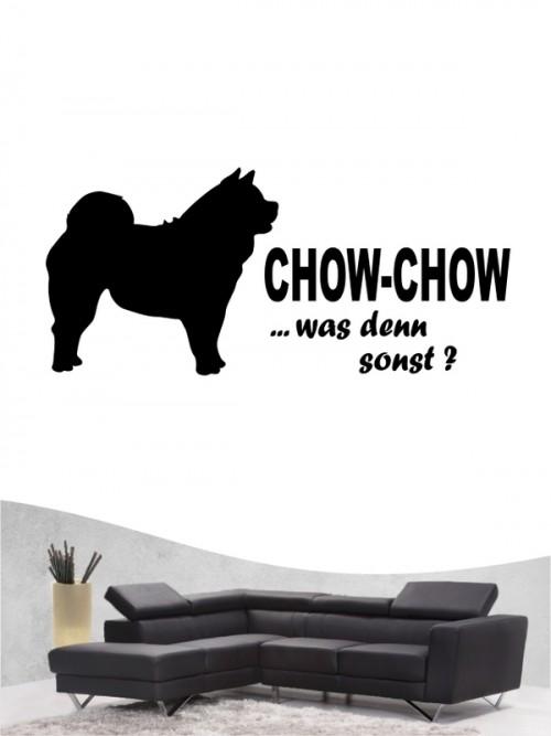 Chow-Chow 7 Wandtattoo