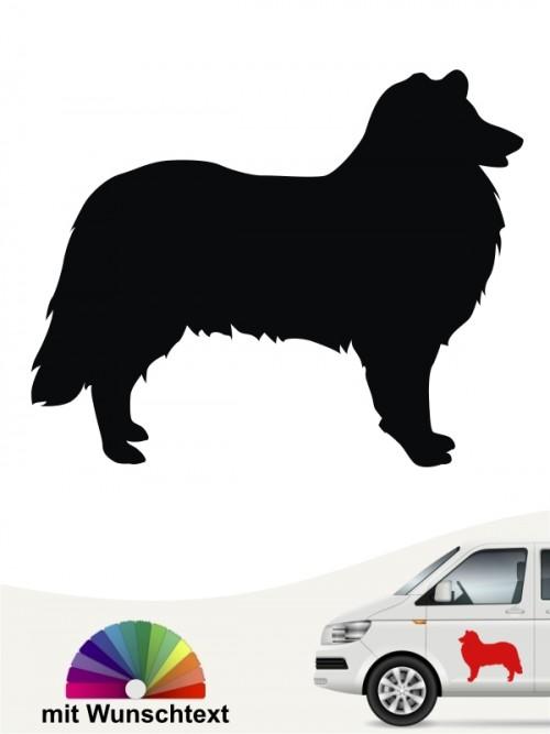 Hunde-Autoaufkleber Collie 1 von Anfalas.de