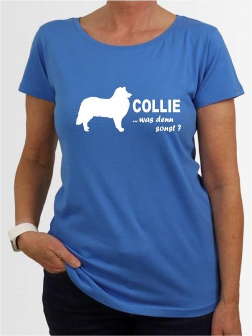 """""""Collie 7"""" Damen T-Shirt"""