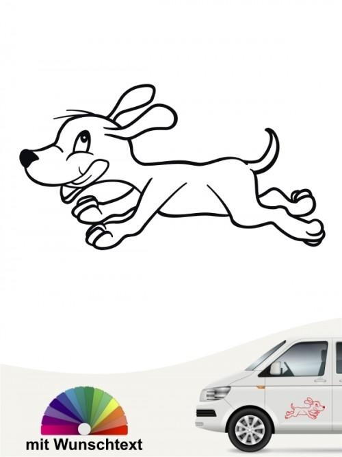 Lustiger Hundesport Aufkleber von anfalas.de