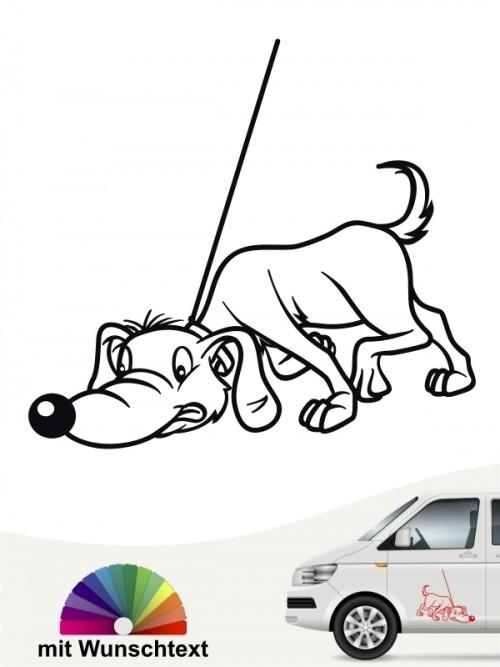 Lustiger Suchhund Aufkleber anfalas.de