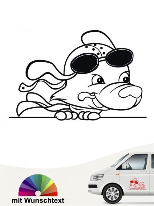 Hunde-Autoaufkleber Comic 67 von Anfalas.de