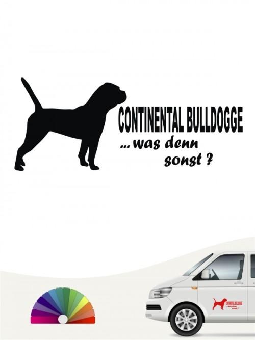 Continental Bulldogge was denn sonst Sticker anfalas.de