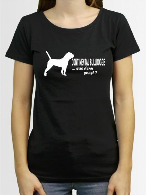 """""""Continental Bulldogge 7"""" Damen T-Shirt"""