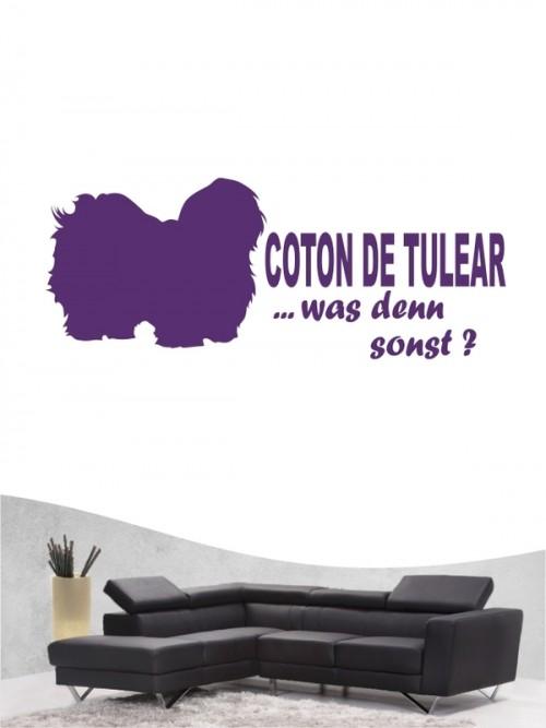 Coton de Tulear 7 Wandtattoo
