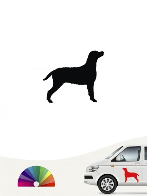 Hunde-Autoaufkleber Curly Coated Retriever 1 Mini von Anfalas.de