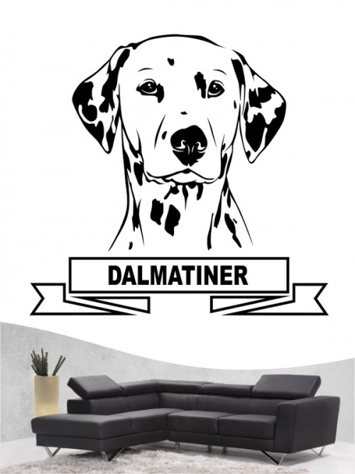 Hunde-Wandtattoo Dalmatiner 15 von Anfalas.de