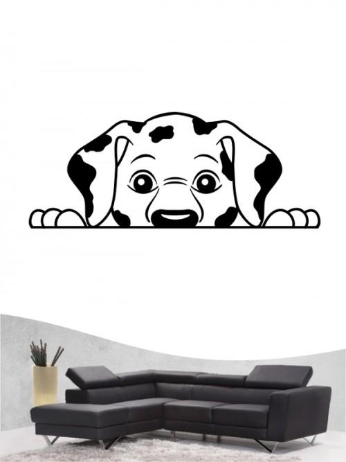 Dalmatiner Comic - Wandtattoo