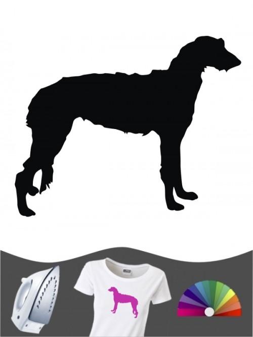 Deerhound 1 Bügelbild