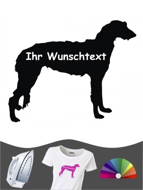 Deerhound 3 Bügelbild