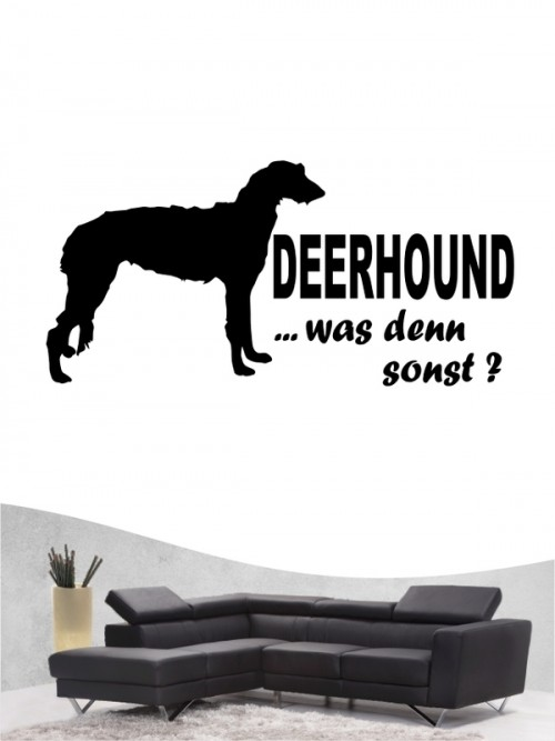 Deerhound 7 - Wandtattoo