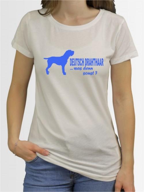 """""""Deutsch Drahthaar 7"""" Damen T-Shirt"""