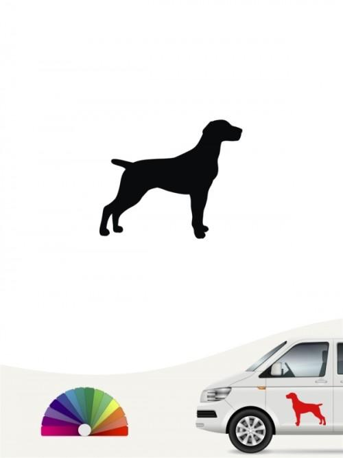 Hunde-Autoaufkleber Deutsch Kurzhaar 1 Mini von Anfalas.de