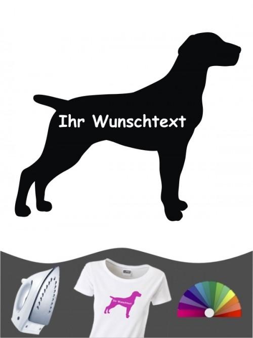 Deutsch Kurzhaar 3 - Bügelbild