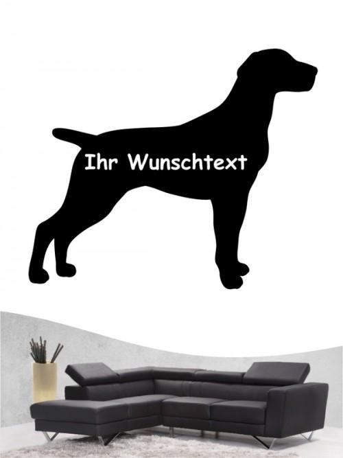 Deutsch Kurzhaar 3 - Wandtattoo