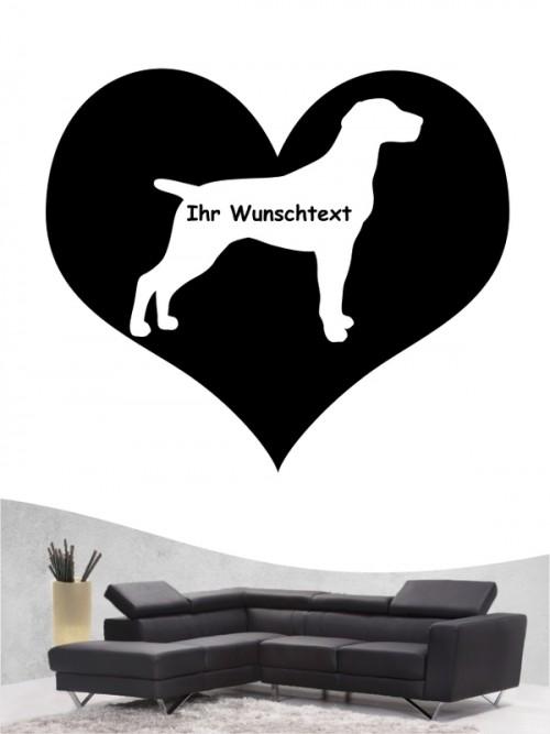 Deutsch Kurzhaar 4 - Wandtattoo